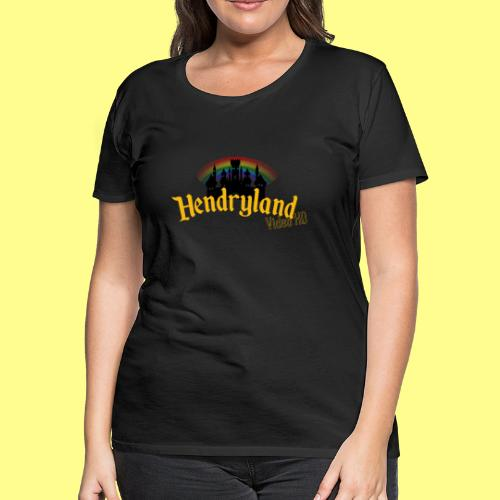 HENDRYLAND logo Merch - Women's Premium T-Shirt
