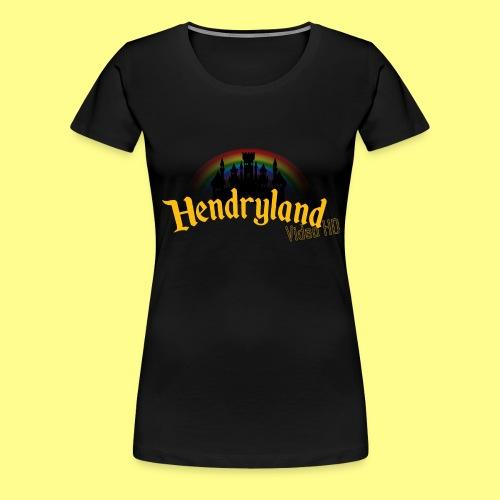HENDRYLAND logo Merch - Women's Premium T-Shirt