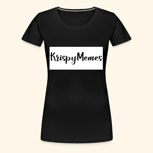 KrispyMemes Text 2 - Women's Premium T-Shirt