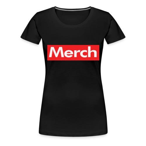 Merch Supreme Parody - Women's Premium T-Shirt