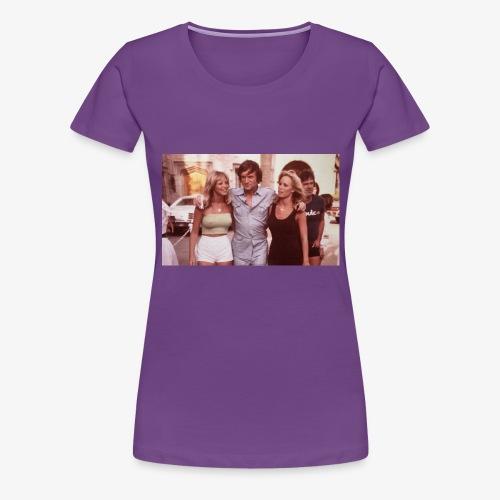 Hugh Hefner - Women's Premium T-Shirt
