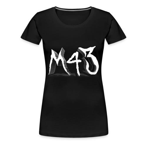 M43 Logo 2018 - Women's Premium T-Shirt
