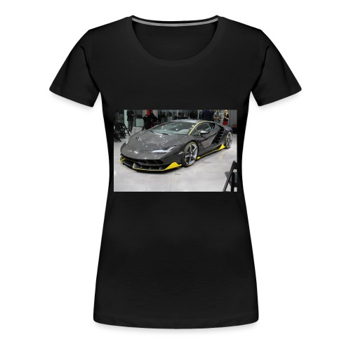 Lamborghini Centenario front three quarter e146585 - Women's Premium T-Shirt