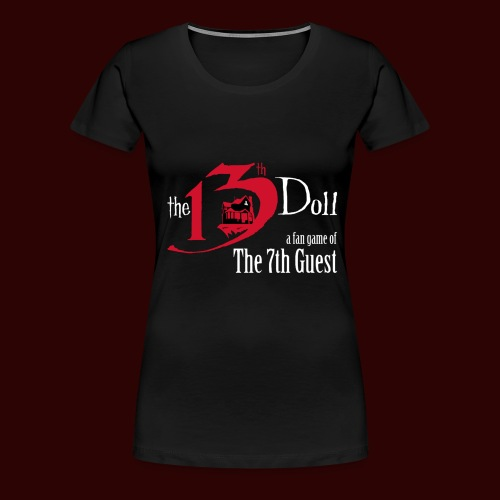 The 13th Doll Logo - Women's Premium T-Shirt