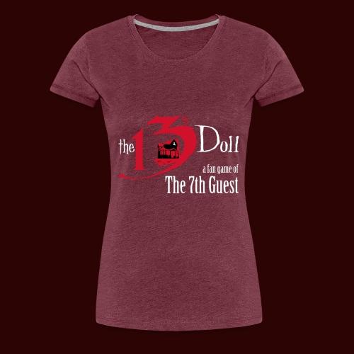 The 13th Doll Logo - Women's Premium T-Shirt