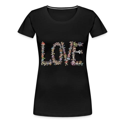 MUSHROOM LOVE - Women's Premium T-Shirt