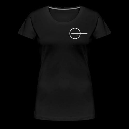 Classic Harris Logo White - Women's Premium T-Shirt