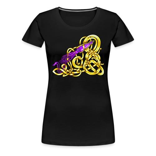 Celtic Squid - Women's Premium T-Shirt