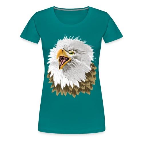 Big, Bold Eagle - Women's Premium T-Shirt