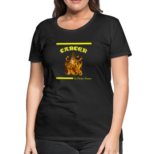 CANCER YELLOW - Women's Premium T-Shirt