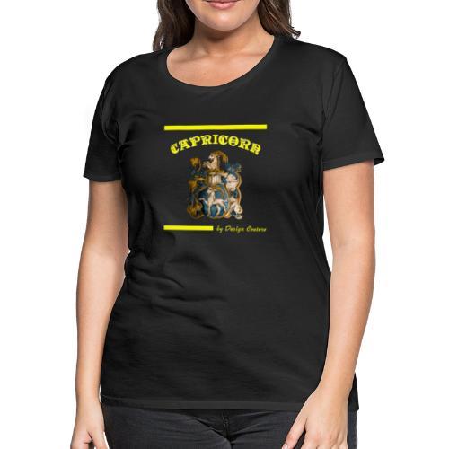 CAPRICORN YELLOW - Women's Premium T-Shirt