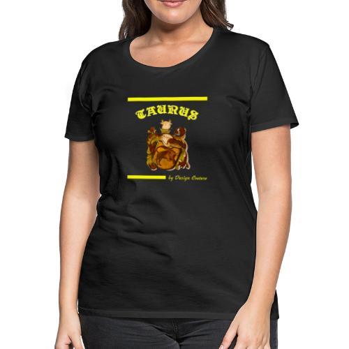 TAURUS YELLOW - Women's Premium T-Shirt