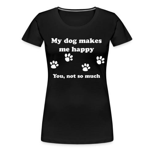 dog_happy - Women's Premium T-Shirt