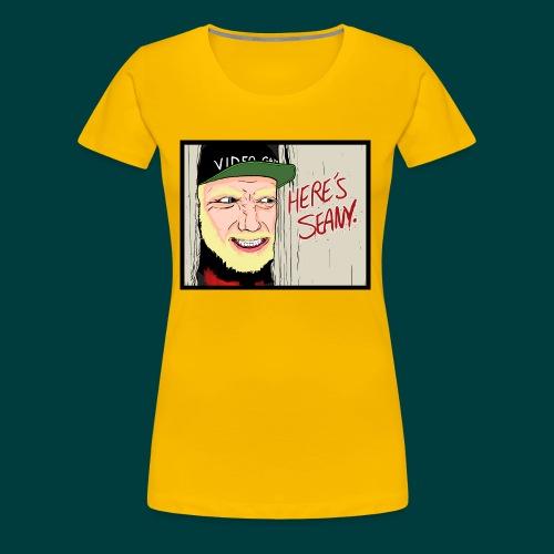 Here's Seany - Women's Premium T-Shirt