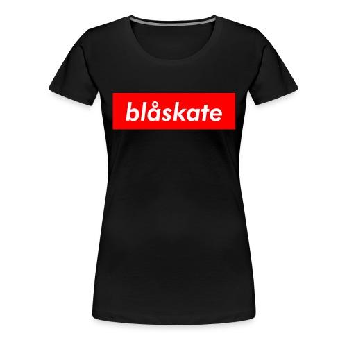 blåskate Box Logo - Women's Premium T-Shirt