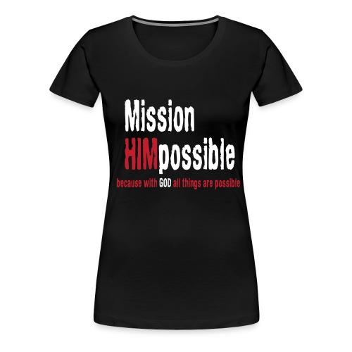 BetterMissionLogoHIGHnew - Women's Premium T-Shirt