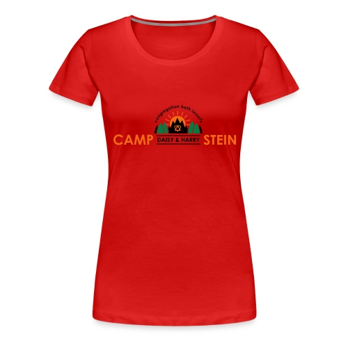 campstein horiz 4color - Women's Premium T-Shirt