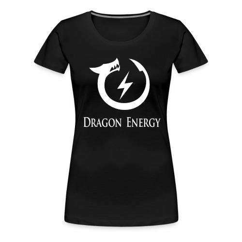 Dragon Energy (white graphic) - Women's Premium T-Shirt