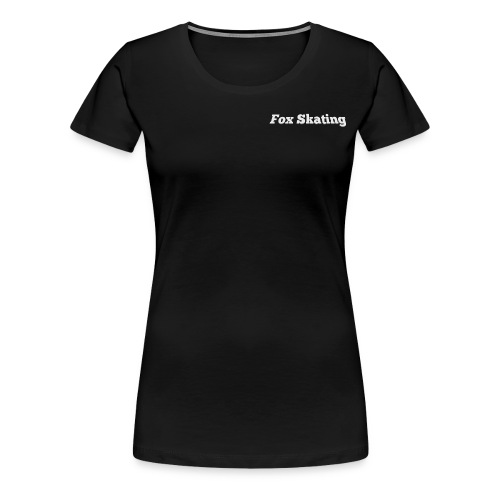 Fox Skating - Women's Premium T-Shirt