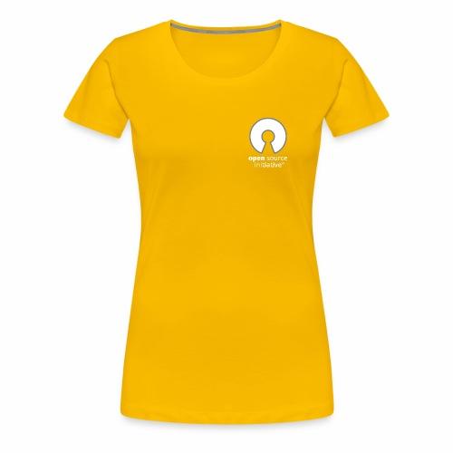 osi_greyscale_logo_transp - Women's Premium T-Shirt