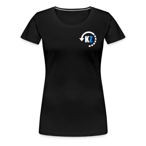 Basic KayZie Design - Women's Premium T-Shirt