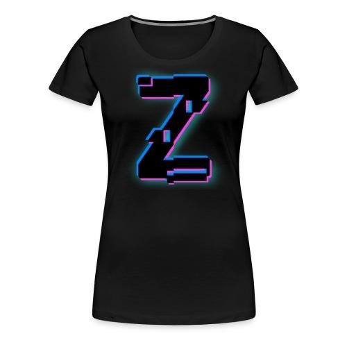 Glitchy Z - Women's Premium T-Shirt
