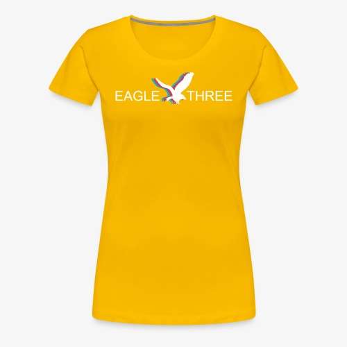 EAGLE THREE APPAREL - Women's Premium T-Shirt