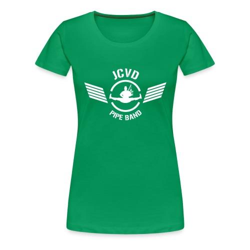 JCVD White - Women's Premium T-Shirt