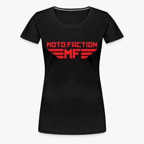 MotoFaction Logo - Women's Premium T-Shirt