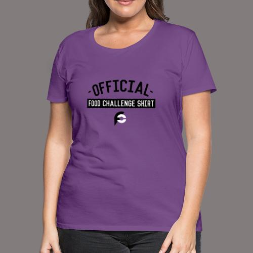 Official Food Challenge Shirt 1 - Women's Premium T-Shirt
