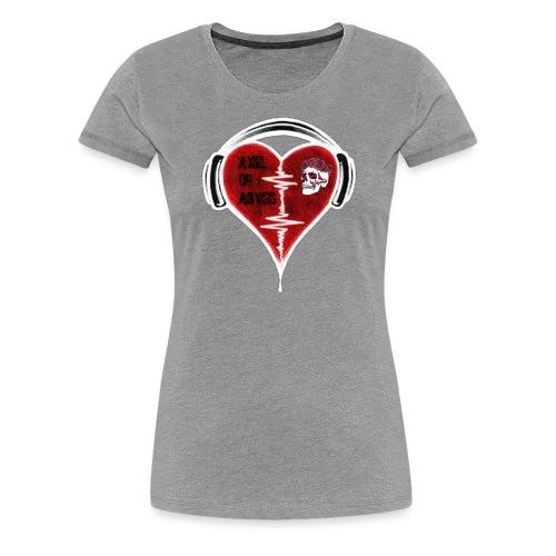 Axelofabyss Music in your heart - Women's Premium T-Shirt