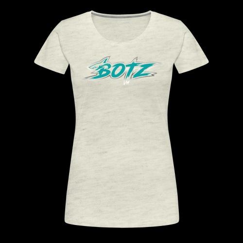 BOTZ Teal Logo - Women's Premium T-Shirt