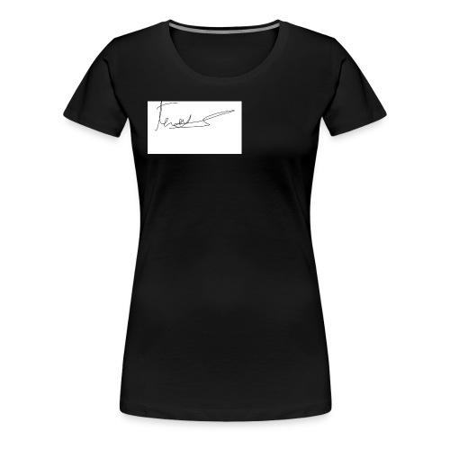 autograph - Women's Premium T-Shirt