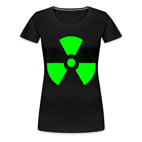 Radiation Symbol - Women's Premium T-Shirt