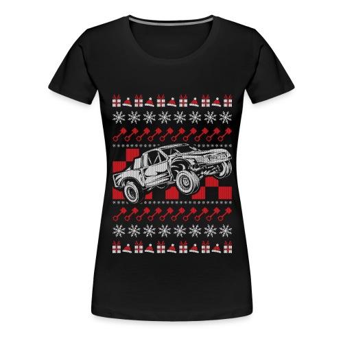 Pro Race Truck Christmas - Women's Premium T-Shirt