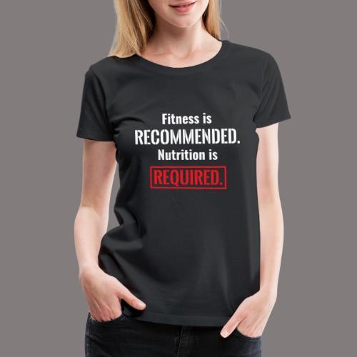 Mens_Nutrition - Women's Premium T-Shirt