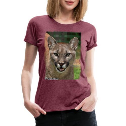 Cougar Stare - Women's Premium T-Shirt