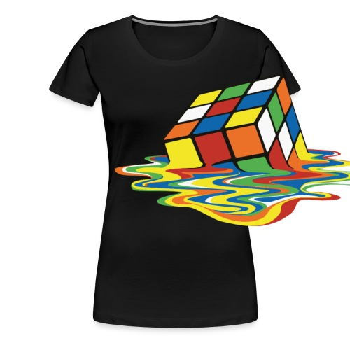 meltingcube - Women's Premium T-Shirt
