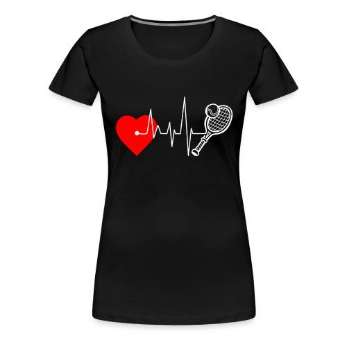 I love Tennis - Women's Premium T-Shirt