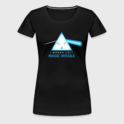 Magic Missile - Women's Premium T-Shirt