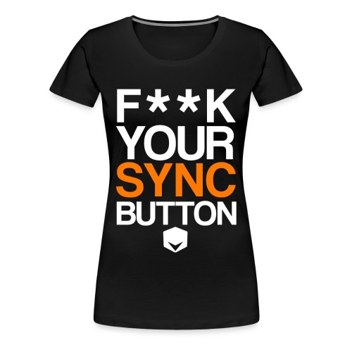 your sync button png - Women's Premium T-Shirt