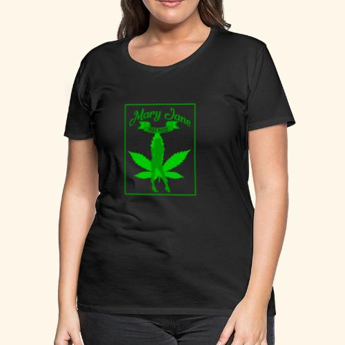 MARJ JANE - PUFF PASS - WEED SMOKER SHIRT FOR MEN - Women's Premium T-Shirt