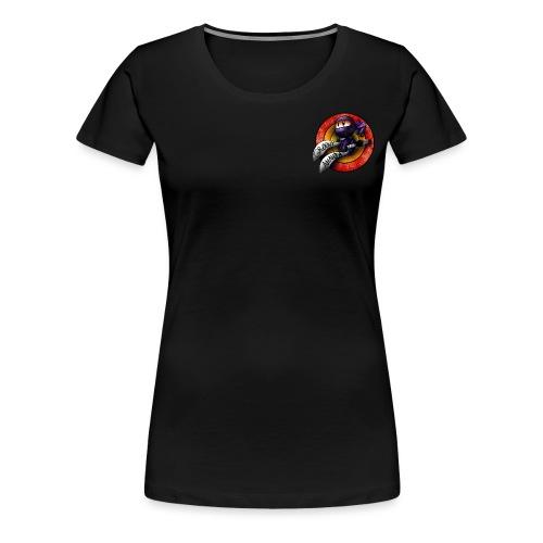 Groovy Ninja Logo - Women's Premium T-Shirt