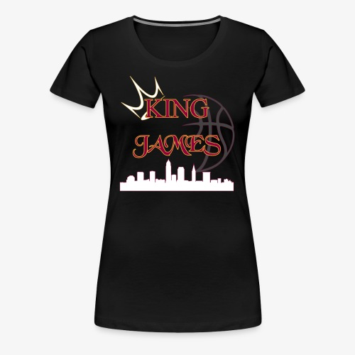 king james - Women's Premium T-Shirt