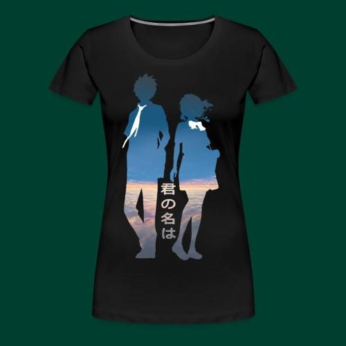 君の名は Image - Women's Premium T-Shirt