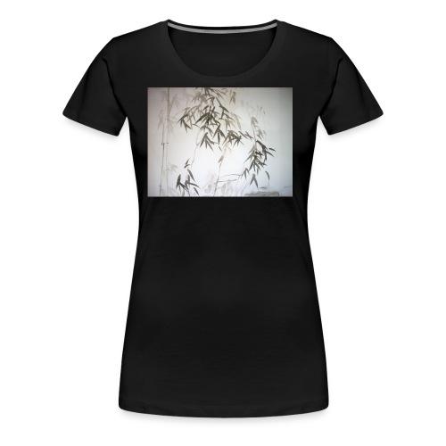 Bamboo leaves - Women's Premium T-Shirt