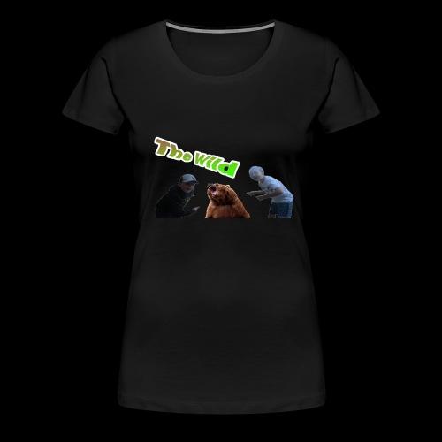 Exploring the wild - Women's Premium T-Shirt