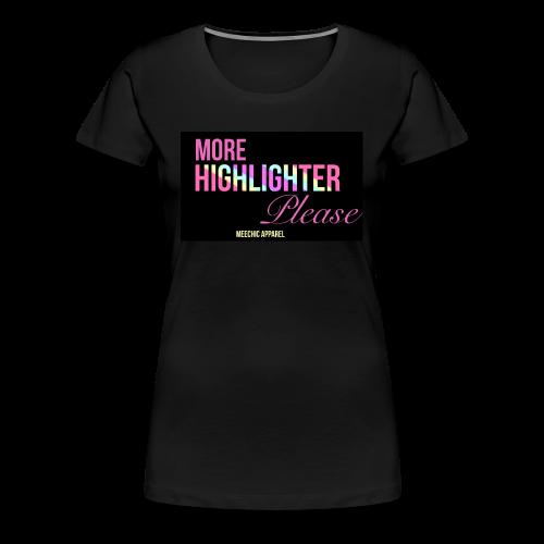 MUA Exclusive T-Shirt - Women's Premium T-Shirt