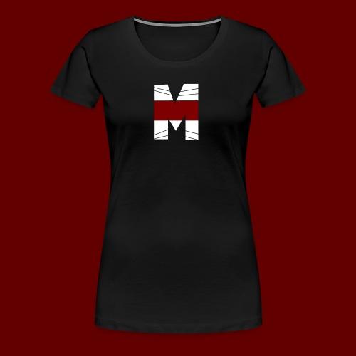 WHITE AND RED M Season 2 - Women's Premium T-Shirt