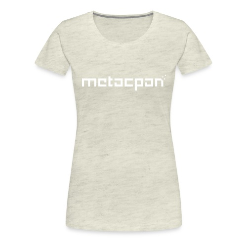 metacpan - Women's Premium T-Shirt